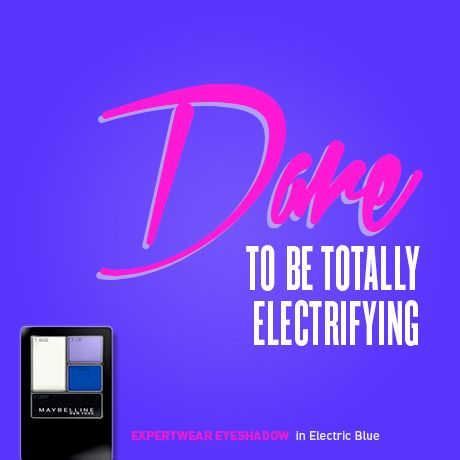 #electric #colorful #makeup #maybelline