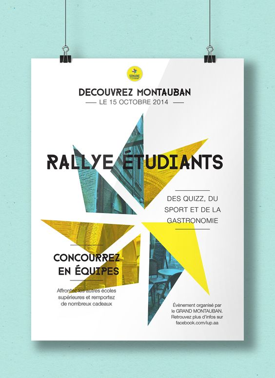 flyer rallye étudiant