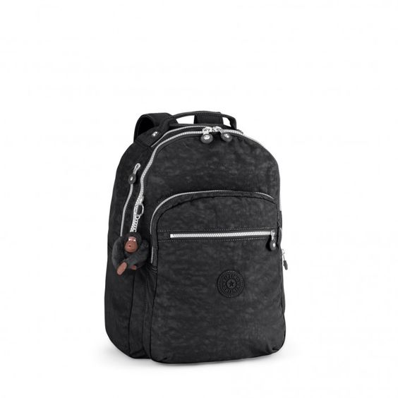 Kipling Clas Seoul Basic Großer Rucksack Black