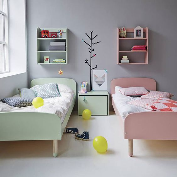Scandinavian design, Shared bedrooms and Shared bedroom kids on ...