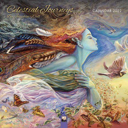 Celestial Calendar 2022.Celestial Journeys By Josephine Wall Wall Calendar 2022 Art Calendar Calendar Walmart Com In 2021 Josephine Wall Fantasy Artist Goddess Art