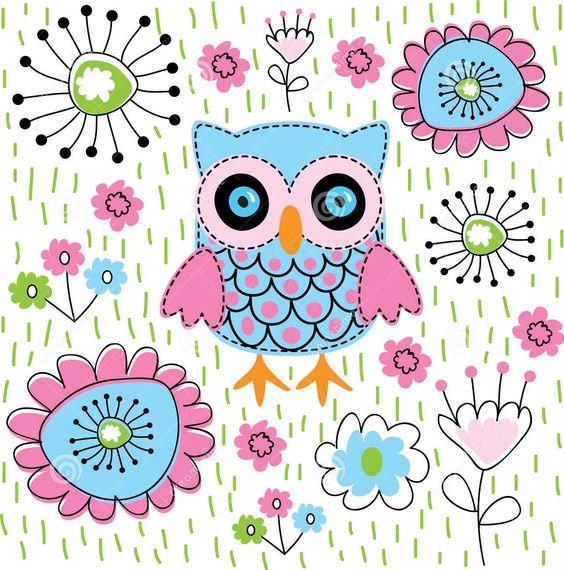 Cute owl monogram wallpaper toys pinterest voltagebd Gallery