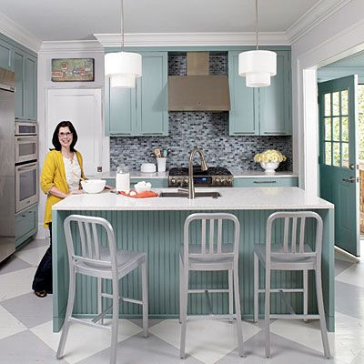 Best Bold His And Hers Cottage Kitchen Cabinets Love The And 400 x 300