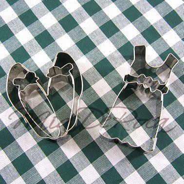 Mode Plätzchen Ausstecher: Kleid und Schuhe - MiaDeRoca  Ilove the baking  ;-))