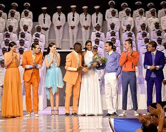 Desfile de moda SANSSOUCI FOR 4 FUNDS de LUIS MENIEUR.