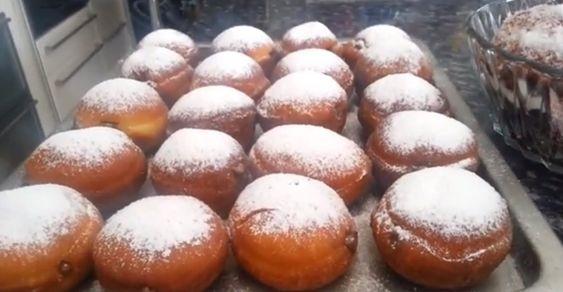 Recette de ma grand m re polonaise pour beignets au sucre four s ou nature 1kg de farine 100g - Recette beignet levure de boulanger ...