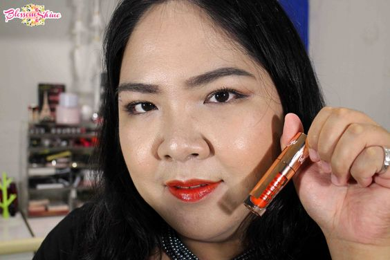Lip swatch liptint GOBAN - Graceful
