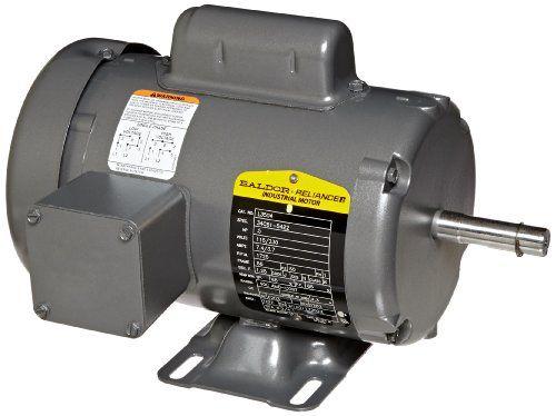 Baldor L3504 General Purpose Ac Motor Single Phase 56 Frame Tefc Enclosure 1 2hp Output 1725rpm 60hz 115 230v Voltage Seam Welding Motor Purpose