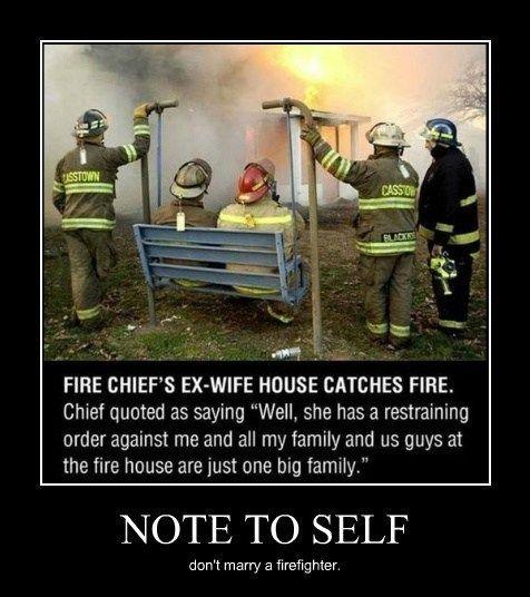 Must Have Been Fiery Divorce