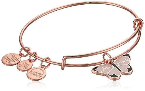 Rose Gold Expandable Alex and Ani Amour EWB