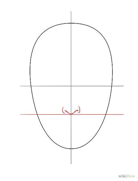 Bildtitel Draw a Face Step 3