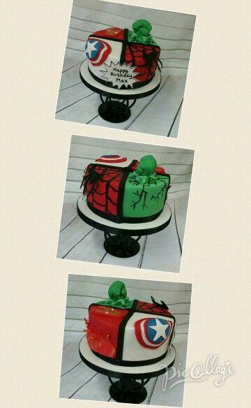 Superhero cake www.facebook.com/ditsyscakes