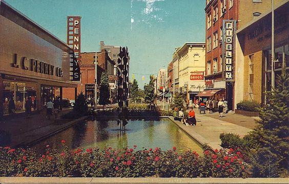 The Kalamazoo Mall of the 60's