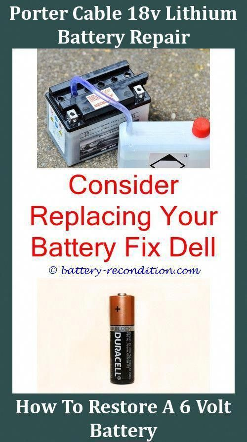 Does Reconditioning Batteries On Smart Charger Batteryrecondition Restoring An Old Car Battery Freezing Laptop Battery Repair Recondition Batteries Car Battery