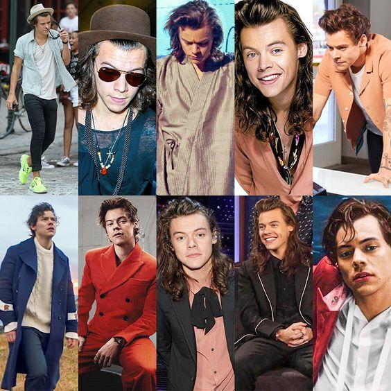 Harry Styles looks