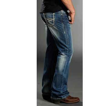 Rock &amp Roll Cowboy Men&39s Relaxed Fit Boot Cut Jeans  &39Boot Barn
