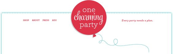 One Charming Party...awesome site for throwing themed parties. adorable kids parties