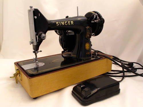 singer sewing machine year