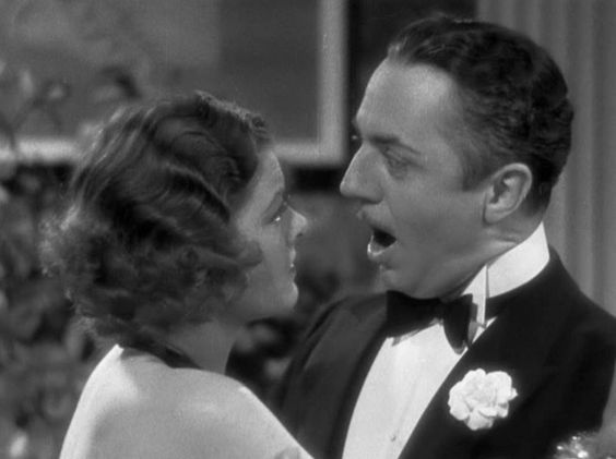 """I'm So glad you're not a detective."" Nora Charles in The Thin Man."
