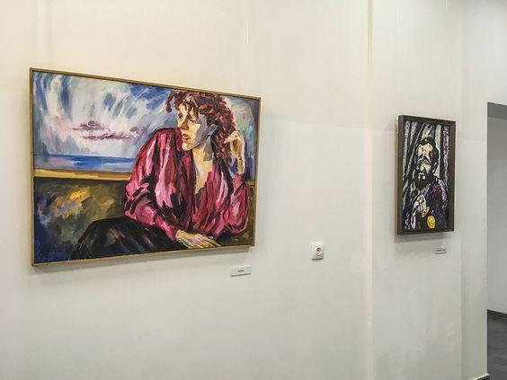 Работы художника Израила Гершбурга