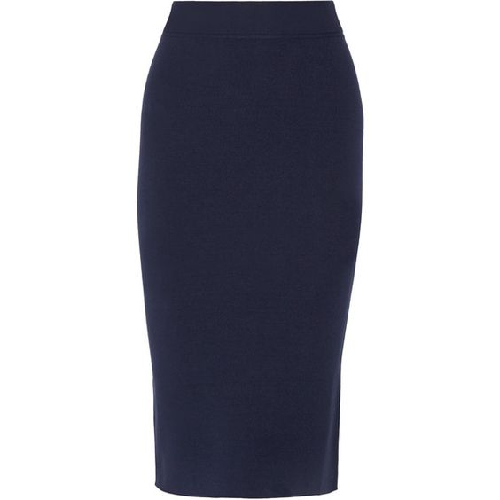 Michael Kors Collection Stretch-knit pencil skirt (13.555 RUB ...