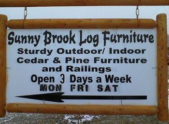 Log Funiture - Amish Built - Ohio