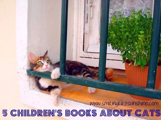 {5 Children's Books about Cats} What are your favorite books about cats?#kidlit
