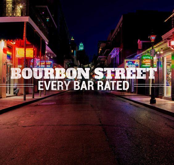 Walk Bourbon Street, New Orleans-✅ DONE