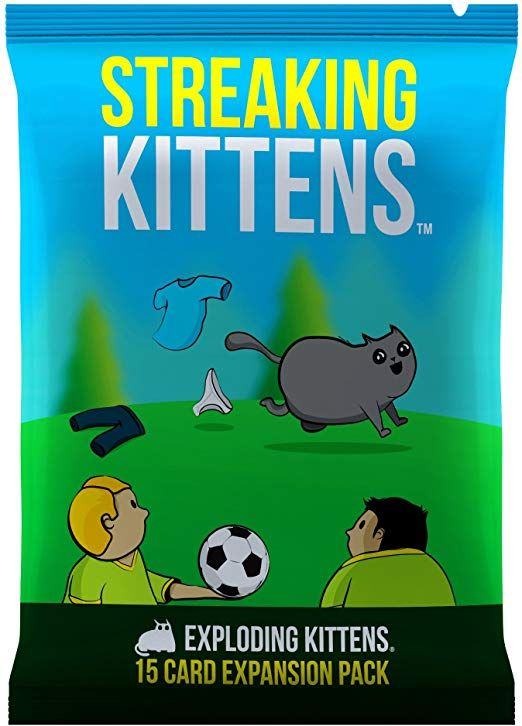 Streaking Kittens This Is The Second Expansion Of Exploding