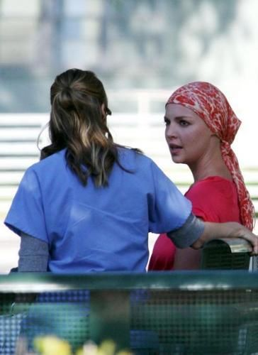 Grey's Anatomy images Mer and Izzie argue? wallpaper and background photos