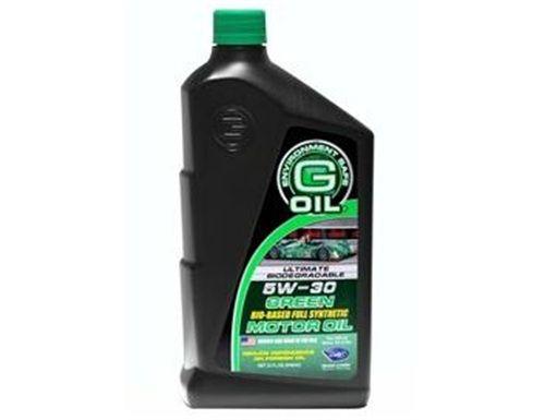 Free G-Oil 5W-30 Bio-Synthetic 1qt. Motor Oil