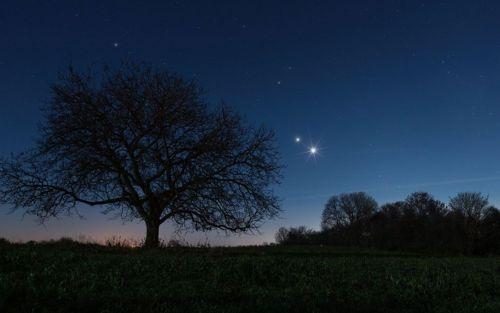 Estrella De Belen Como Ver La Conjuncion De Jupiter Y Saturno Este 21 De Diciembre Jupiter Y Saturno Puestas De Sol Saturno