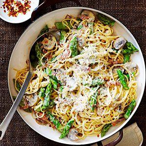 Prosciutto - Asparagus Pasta