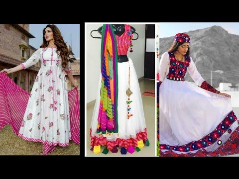 Most Beautiful Long Frocks Dress Design For Girls 2019 New Style With White Contrasting Youtube Frock Dress Dress Designs For Girls Long Frocks