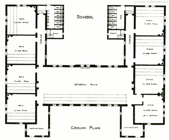 Banstead homes school plan floor plans castles palaces pinterest home and schools for Interior design lesson plans for high school