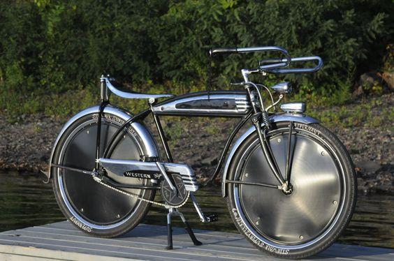 nice rat rod bike