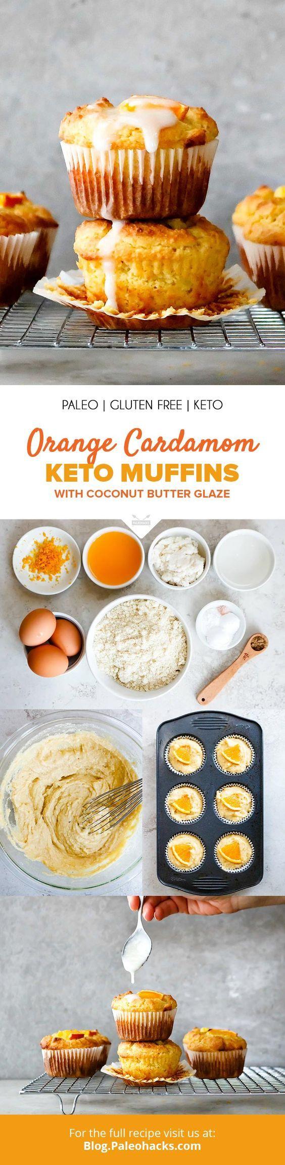 Orange Cardamom Keto Muffins Recipe Recipe Keto Muffin Recipe Paleohacks Recipes Low Carb Desserts
