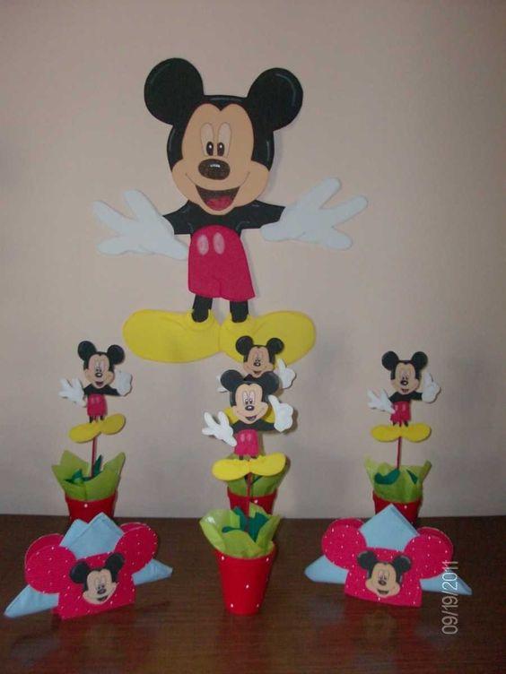 Ideas de decoracion para fiestas infantiles de minnie for Decoracion cumpleanos minnie