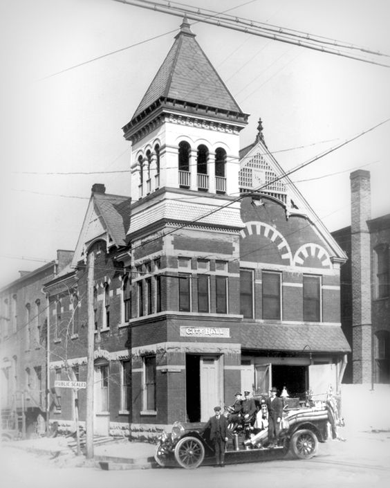 """This gingerbread style building was built around the 1870's as the City Hall and Fire Station for the City of Murfreesboro. It was located on the corner of Church and Maple. It the 1920's, the City Hall moved to Main Street. The """"Po Boy Restaurant"""" was located there during the Depression."""