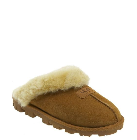 UGG® Genuine Shearling Slipper (Women) available at #Nordstrom