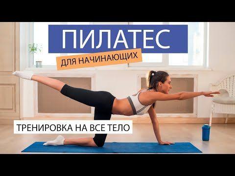 Pilates Dlya Nachinayushih Spokojnaya Trenirovka Na Vse Telo Bez Pryzhkov Pilates Fitlife Youtube V 2021 G Pilates Dlya Nachinayushih Trenirovka S Myachom Pilates
