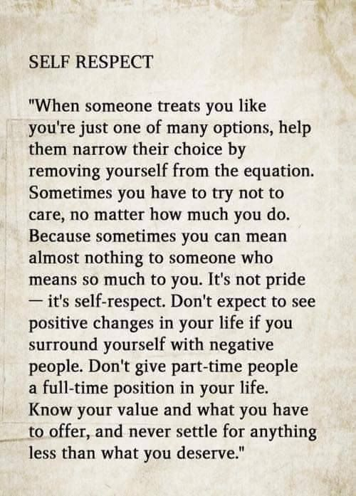 Quotes About Self Respect