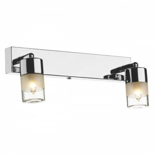 Dual Bulb Bright Chrome Bathroom Wall Light In 2020 Double Wall Lights Wall Light Fittings Bathroom Wall Lights