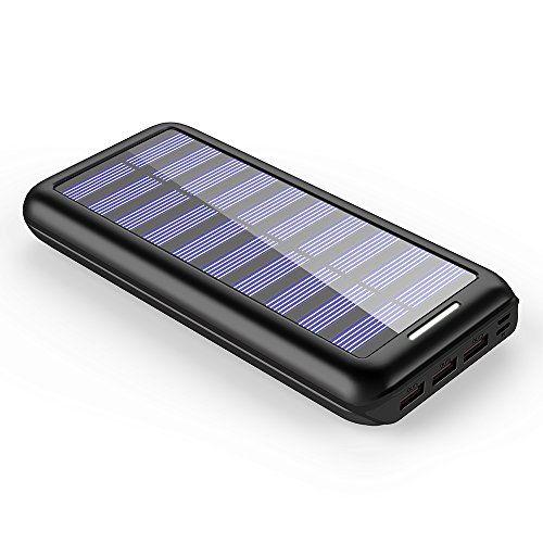 Solar Charger Bernet 24000mah Ultra High Capa Solar Charger Solar Power Station Portable Solar Power