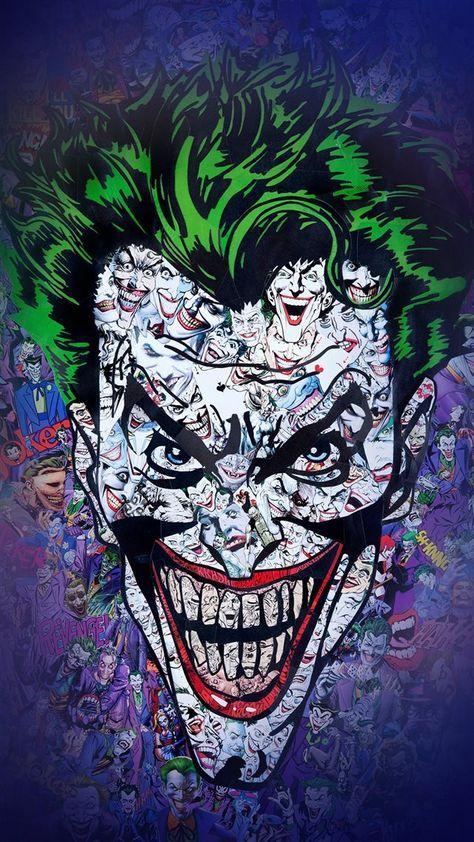 Joker Art Face Illustration Art Iphone 8 Wallpaper Joker Iphone Wallpaper Joker Wallpapers Joker Art Cool cartoon joker wallpapers hd