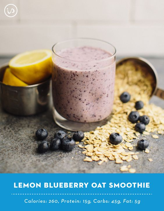 with this Lemon Blueberry Oat Smoothie! It's no secret that lemons ...