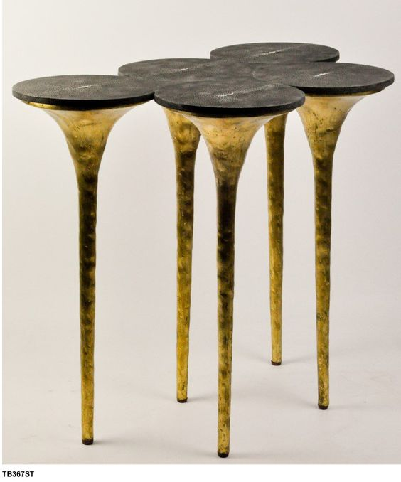 CONTEMPORARY DESIGN |Ginger & Brown console table, black and brass console | www.bocadolobo.com #consoletableideas #modernconsole