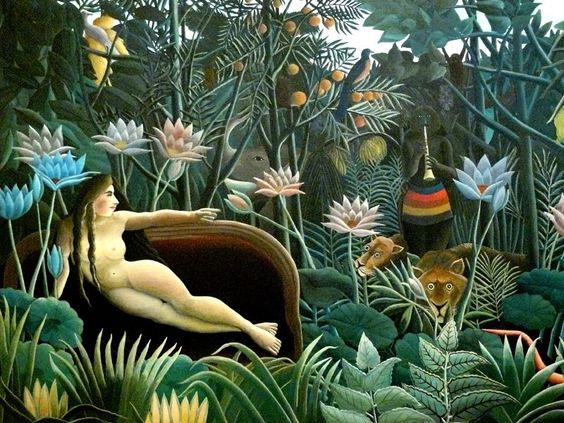 """Henri 'Le Douanier' Rousseau, """"Le Rêve"""" , MoMA"""