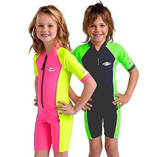 Kid's Shortie Sunsuit, Short Sleeves- UPF 50+ Sun Protection - Pink/Yellow - 8y AVANA http://www.amazon.co.uk/dp/B00ZKKXC82/ref=cm_sw_r_pi_dp_ZnPexb0MZP0Z4:
