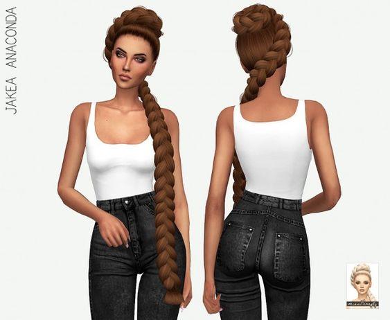 Miss Paraply: Jakea`s Anaconda: solids • Sims 4 Downloads